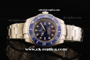 Rolex Oyster Deepsea Sea-Dweller Automatic Movement Full Steel with Blue Bezel and Blue Dial