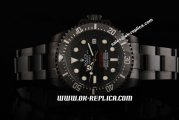 Rolex Sea-Dweller Pro-Hunter Automatic Movement full PVD with Black Dial and Ceramic Bezel-PVD Strap