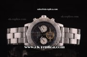 Breitling Colt Tourbillon Automatic Full Steel with Black Dial