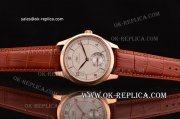 IWC Portuguese Vintage Swiss ETA 2836 Automatic Rose Gold Case with White Dial and Stick/Numeral Markers