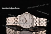 Mido Baroncelli Asia 2813 Automatic Steel Case with White Dial and Roman Markers