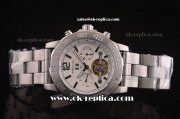 Breitling Colt Tourbillon Automatic Full Steel with White Dial