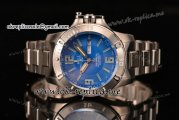 Ball Engineer Hydrocarbon Spacemaster Miyota 8205 Automatic Full Steel with Blue Dial and Green Markers (YF)