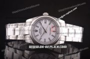 Rolex Datejust Automatic Full Steel with White Dial and Stick Markers