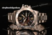 Ball Engineer Hydrocarbon Spacemaster Miyota 8205 Automatic Full Steel with Black Dial and Blue Stick Markers (YF)